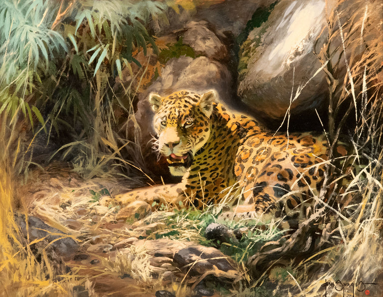 Basking on the Pantanal by Bill Sturgis