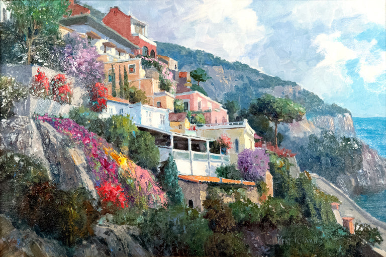 Gorgeous Positano by Kent R. Wallis