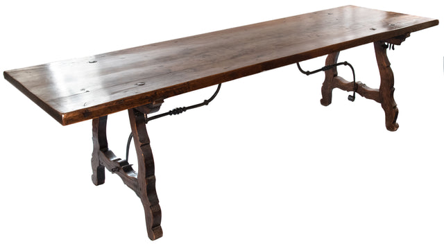 An Eighteenth-Century Spanish Walnut Table