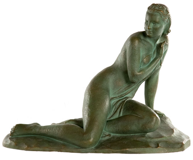 Female Nude in Terracotta by Ugo Cipriani