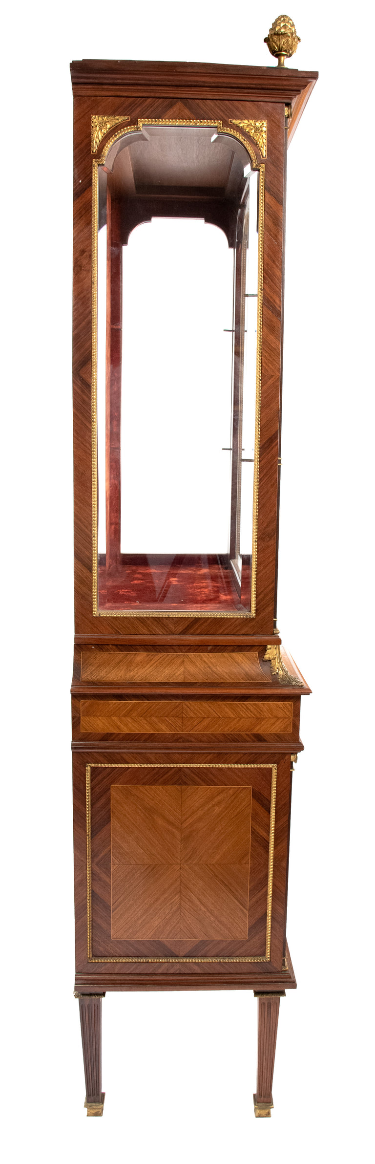 19th Century French Louis XVI Style Vitrine by A. Bastet, Lyon