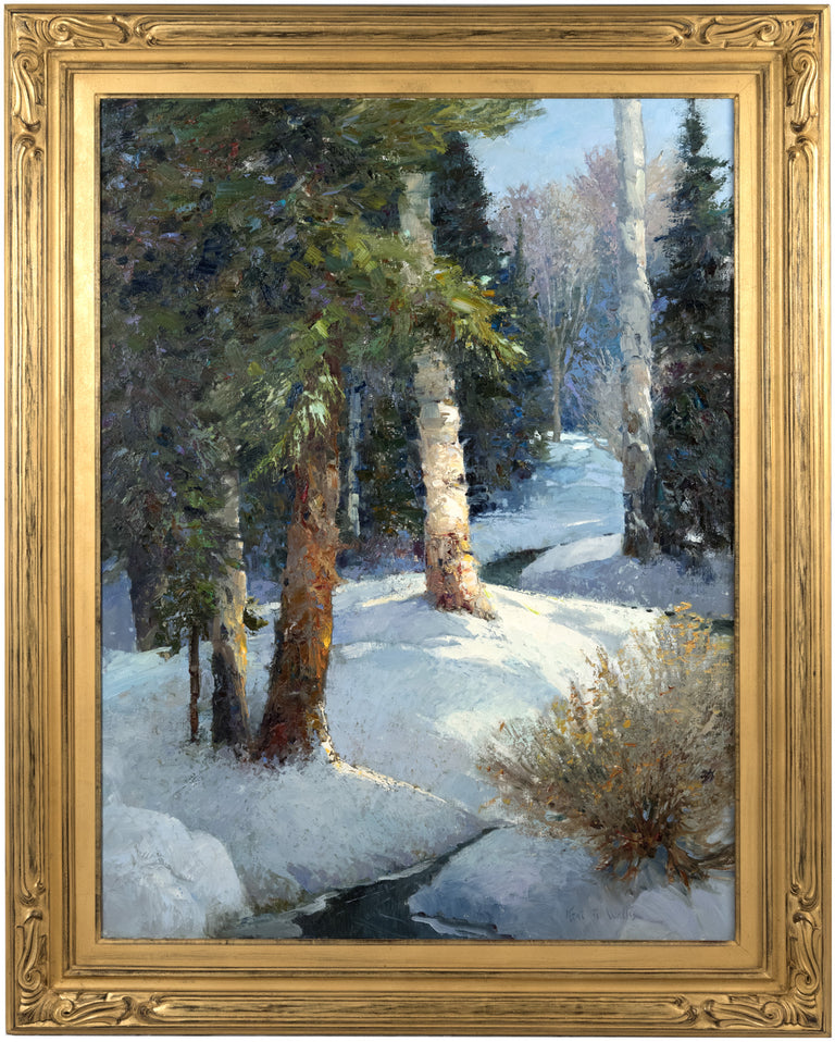 Exquisite Winter Woods by Kent Wallis