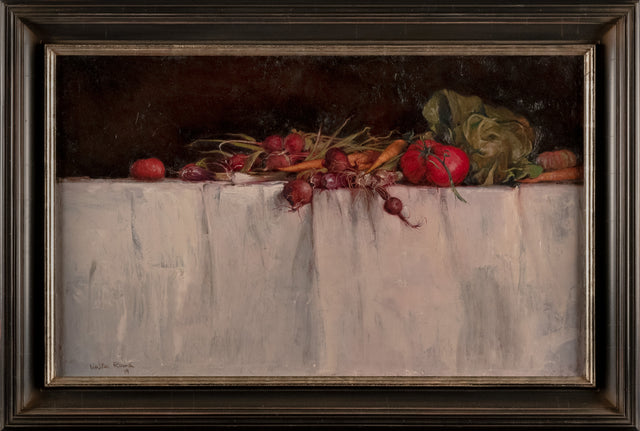 """Vegetable Still Life"" by Walter Rane"