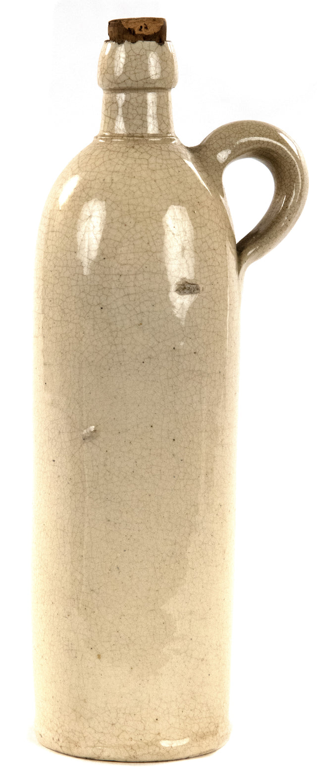 19th Century Rheinpreussen German Stoneware Bottle