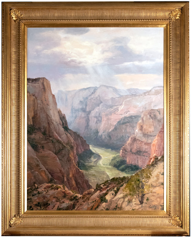 Zion Canyon by Linda Curley Christensen