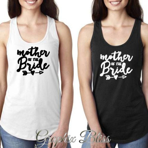 Mother Of The Bride Bachelorette Party Women's Tank Top