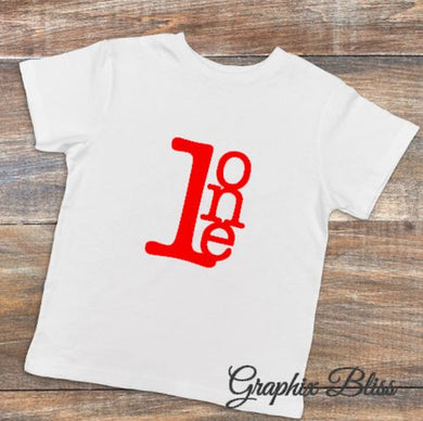 1st Birthday 1 Year Old Happy Birthday Boy or Girl Unisex T shirt