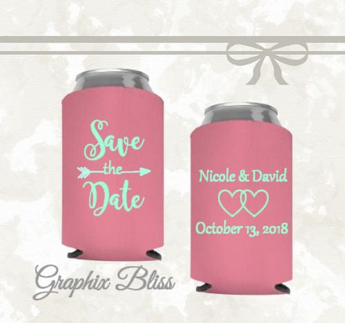 12+ Save The Date Custom Wedding Can Coolers
