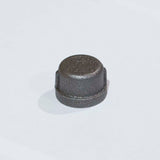 BF3410 Black Iron Fitting, Cap 3/4""