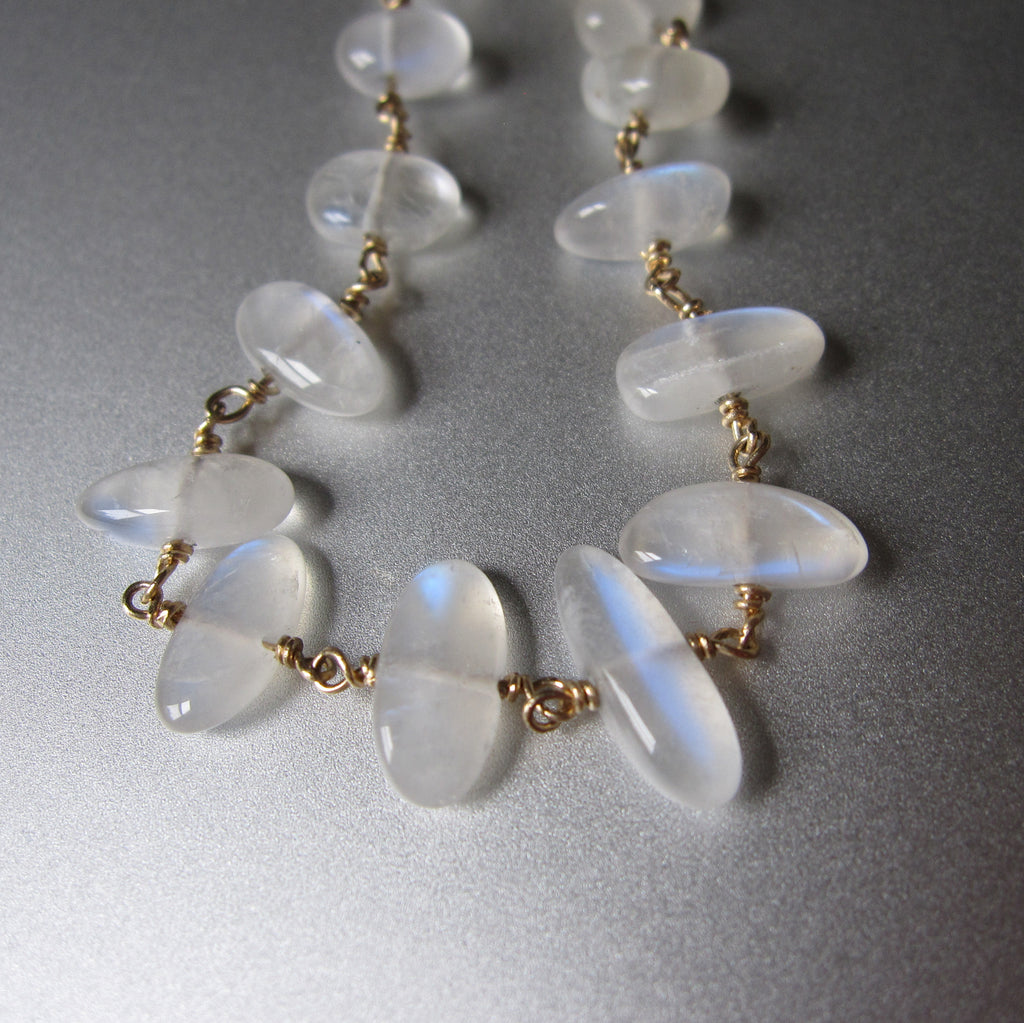 moonstone pebble solid 14k gold bracelet5