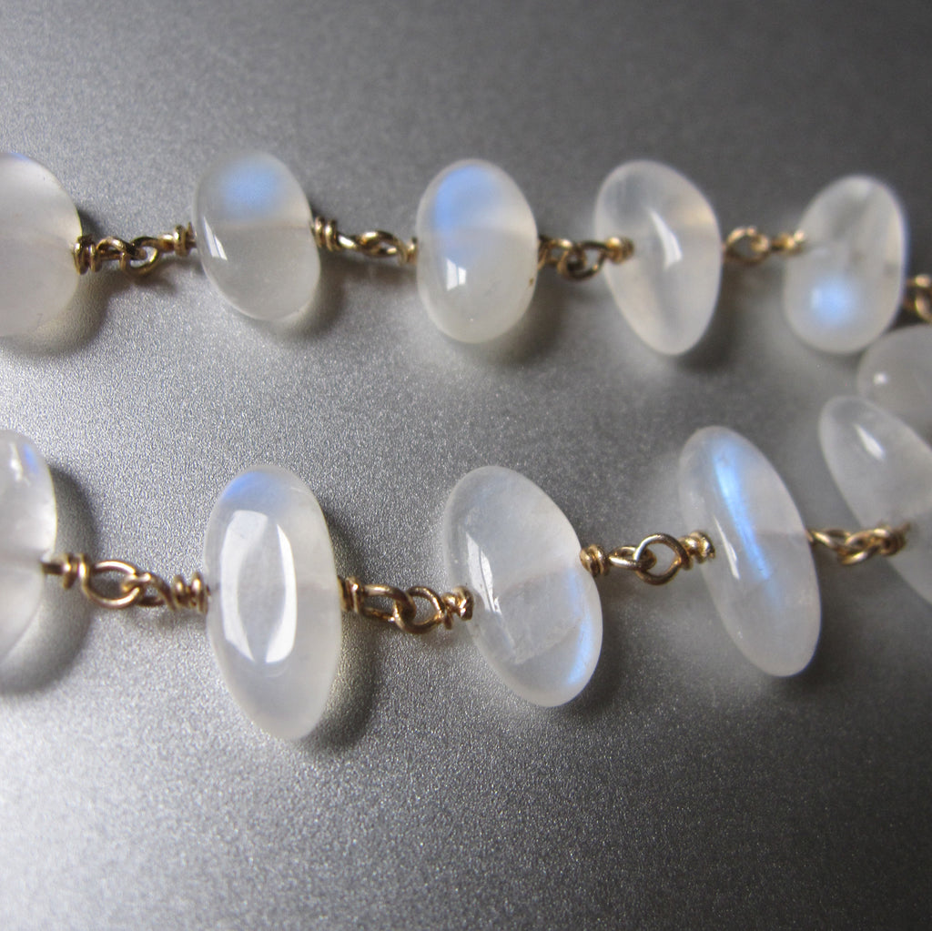 moonstone pebble solid 14k gold bracelet6
