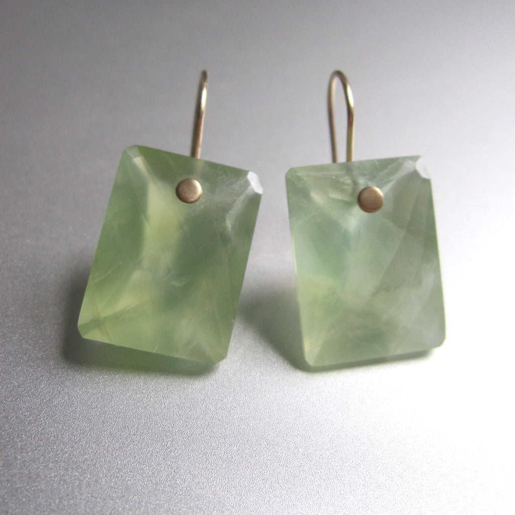 prehnite large ring cut cushion drops solid 14k gold earrings3