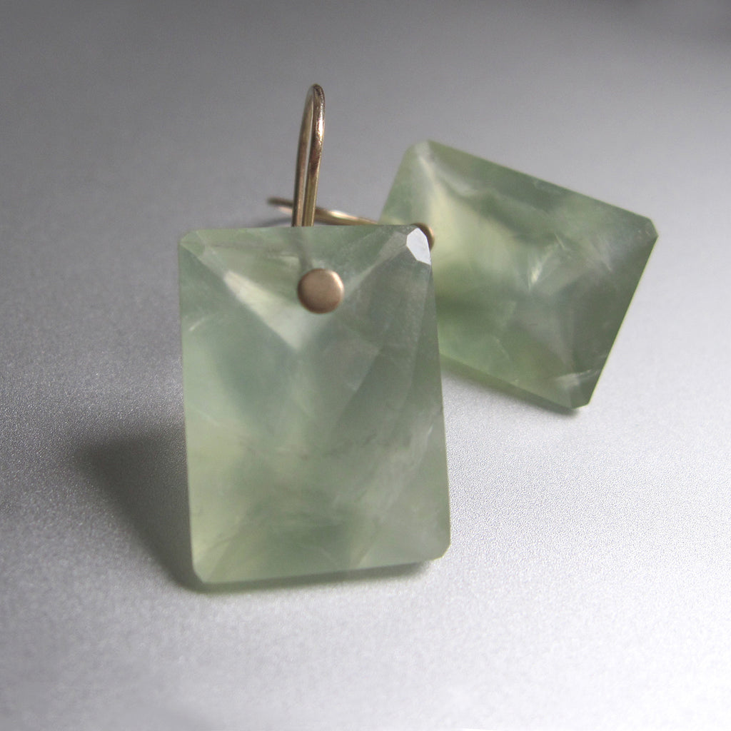 prehnite large ring cut cushion drops solid 14k gold earrings6