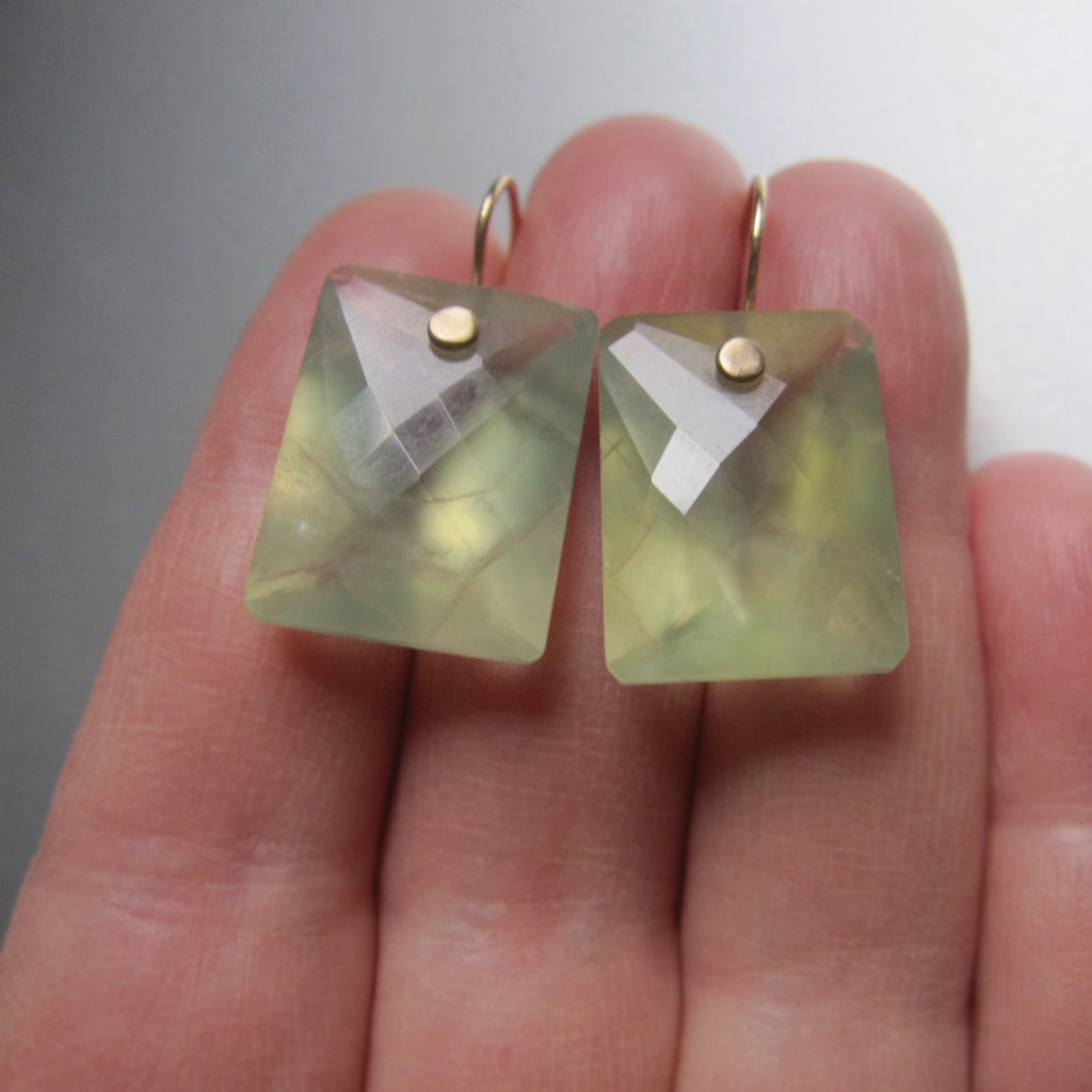 prehnite large ring cut cushion drops solid 14k gold earrings4