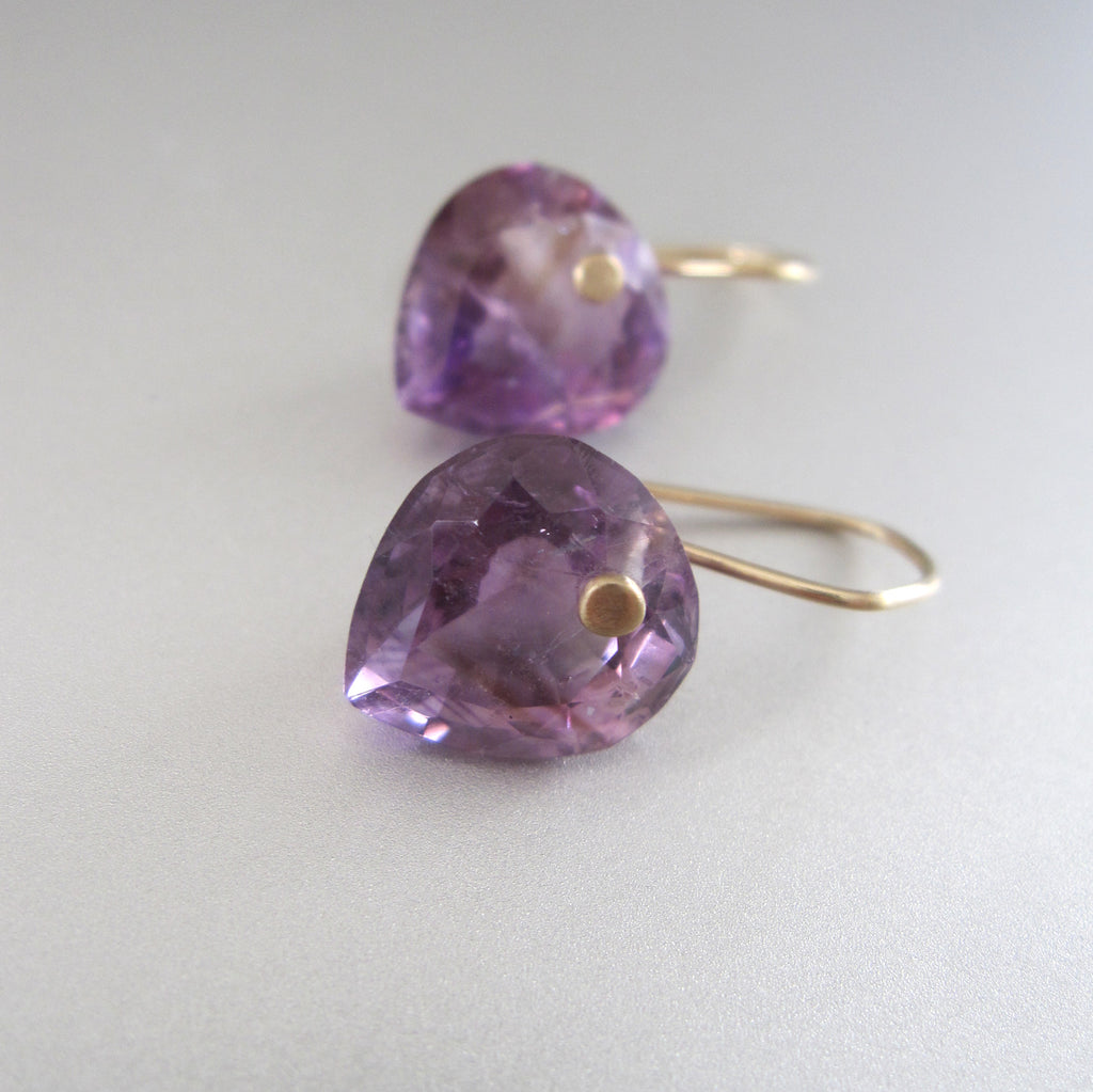 ring cut amethyst heart drops solid 14k gold earrings4