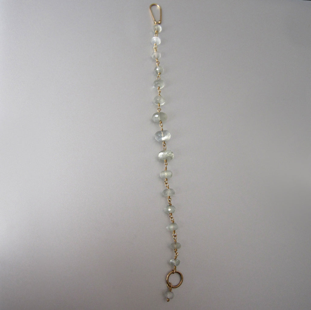 green moonstone wire wrapped solid 14k gold bracelet7