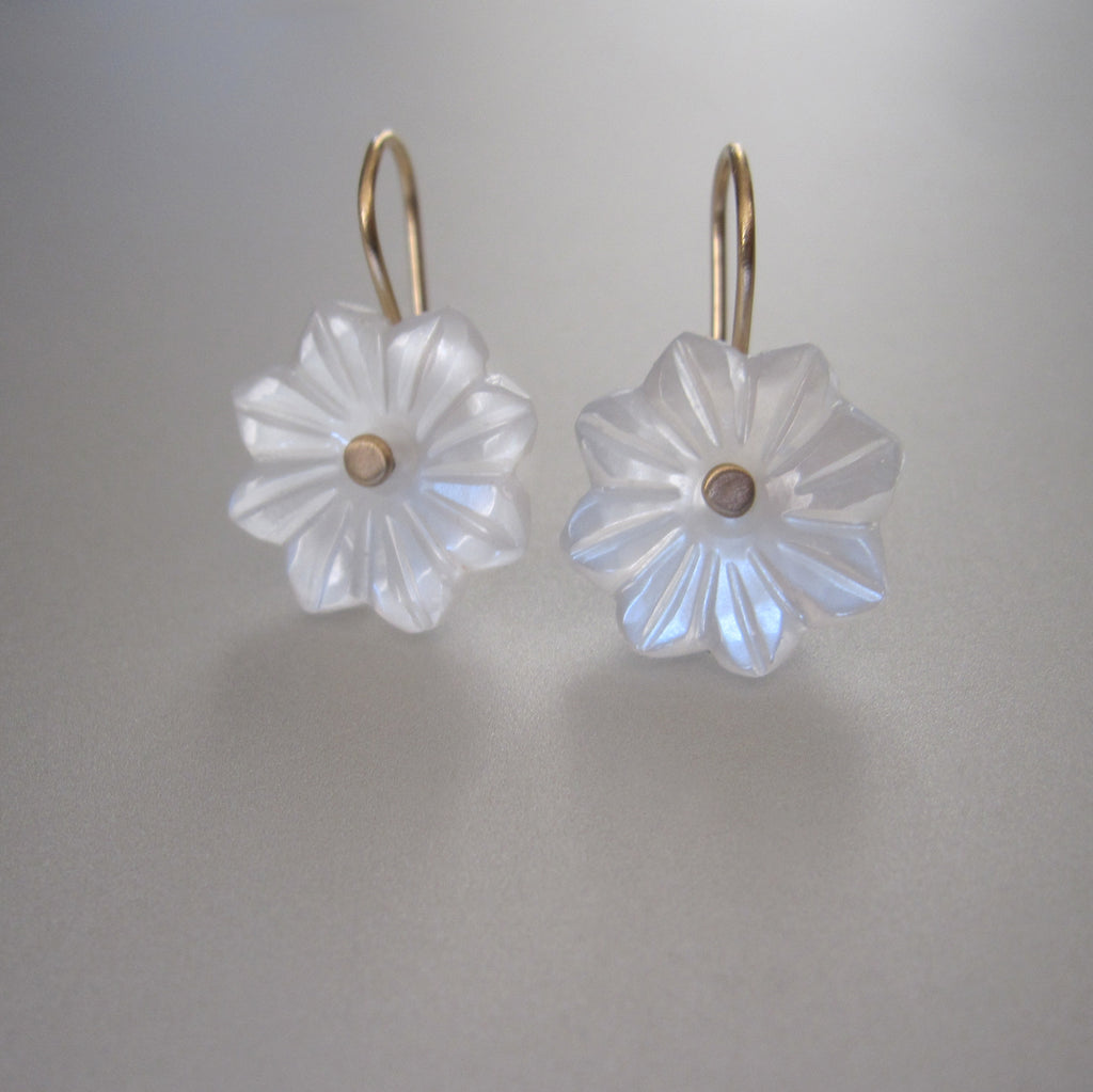 carved white moonstone flower drops solid 14k gold earrings5
