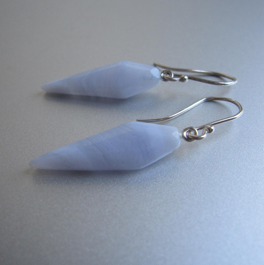blue lace agate pointed kite drops sterling silver earrings2