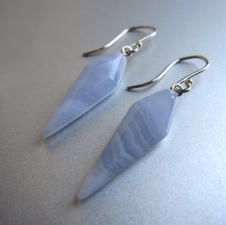 blue lace agate pointed kite drops sterling silver earrings3