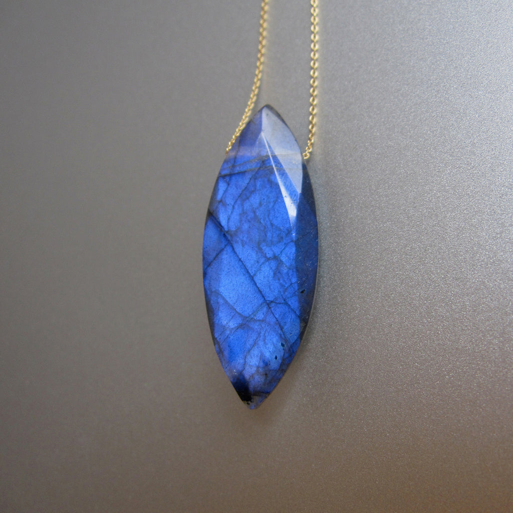 blue marquise labradorite drop solid 14k gold necklace3