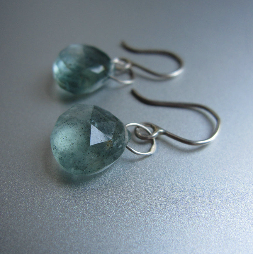 blue green moss aquamarine drops sterling silver earrings3