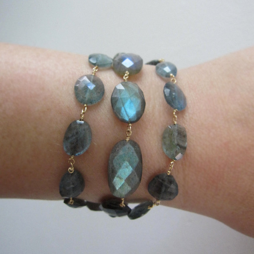 blue green labradorite solid 14k gold toggle bracelet5