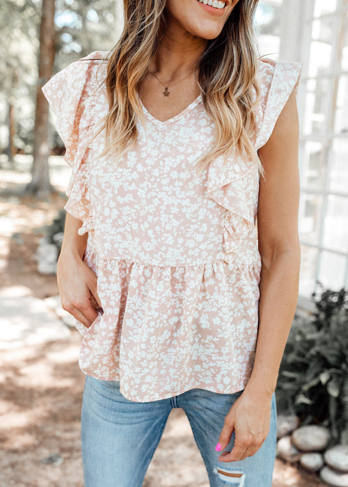Chelsea Floral Top