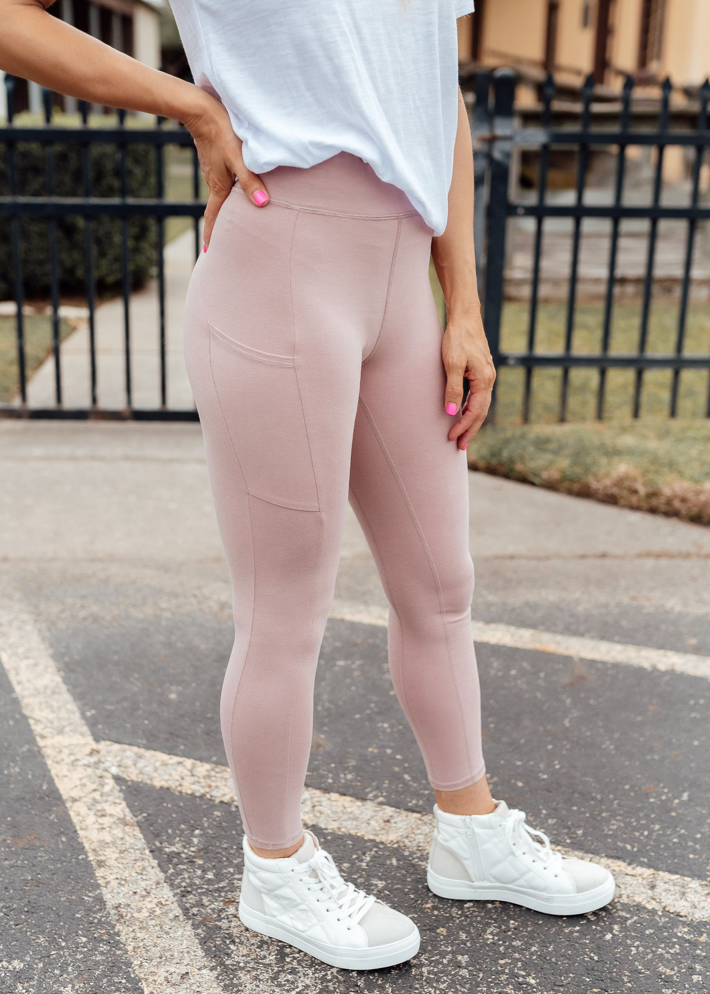 Ready To Go Leggings *BLUSH