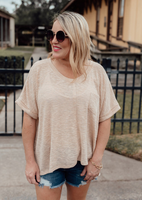 Peachy Knit Top