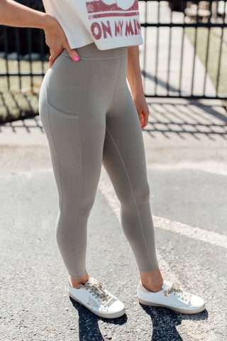 Ribbed Seamless Leggings *NAVY