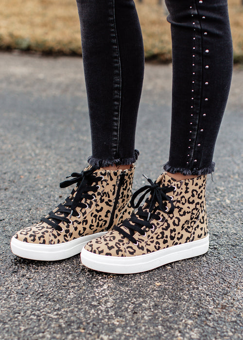 Itself High Top Shoe (5.5-11) *LEOPARD