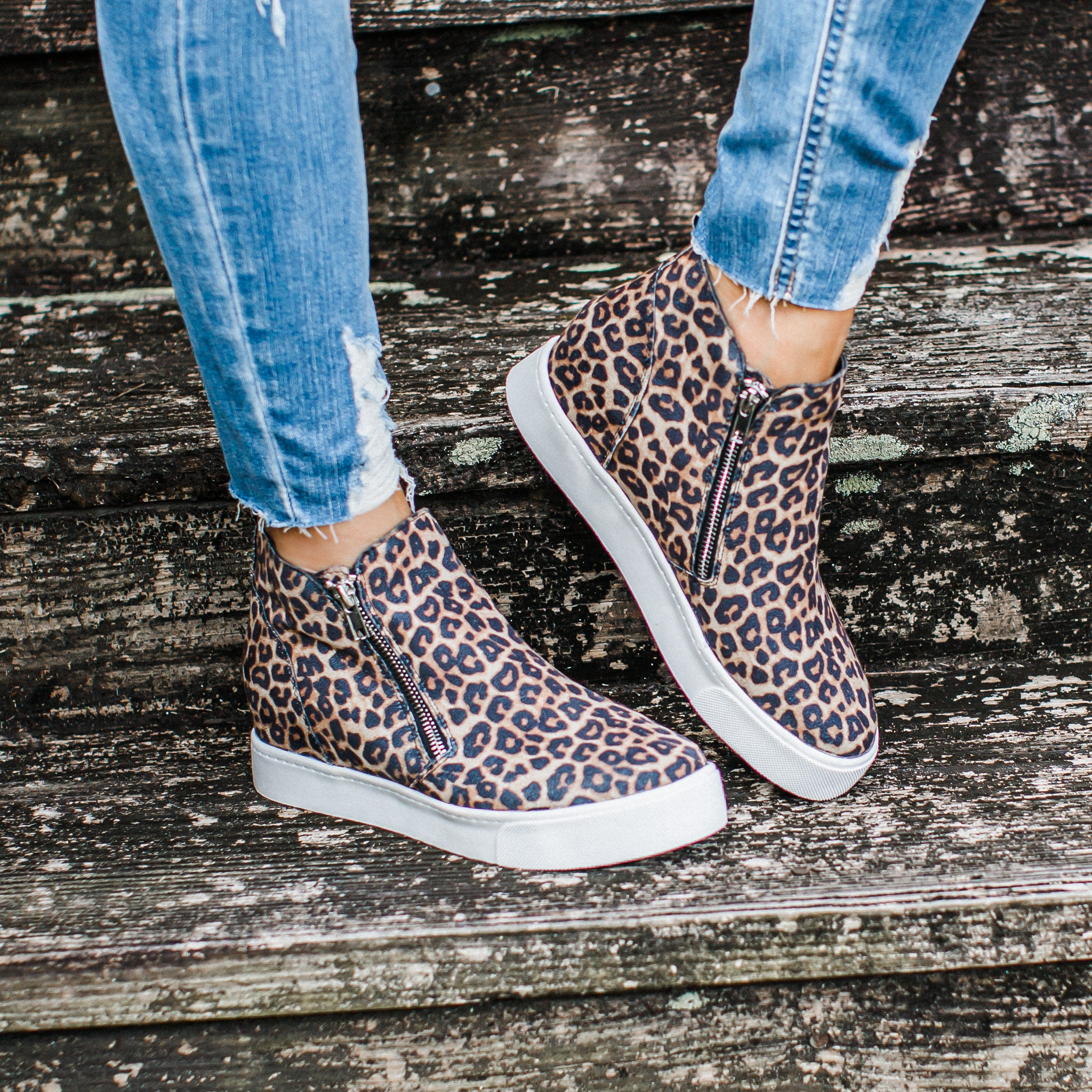Cara Shoes Hidden Wedge (5.5-11) *LEOPARD