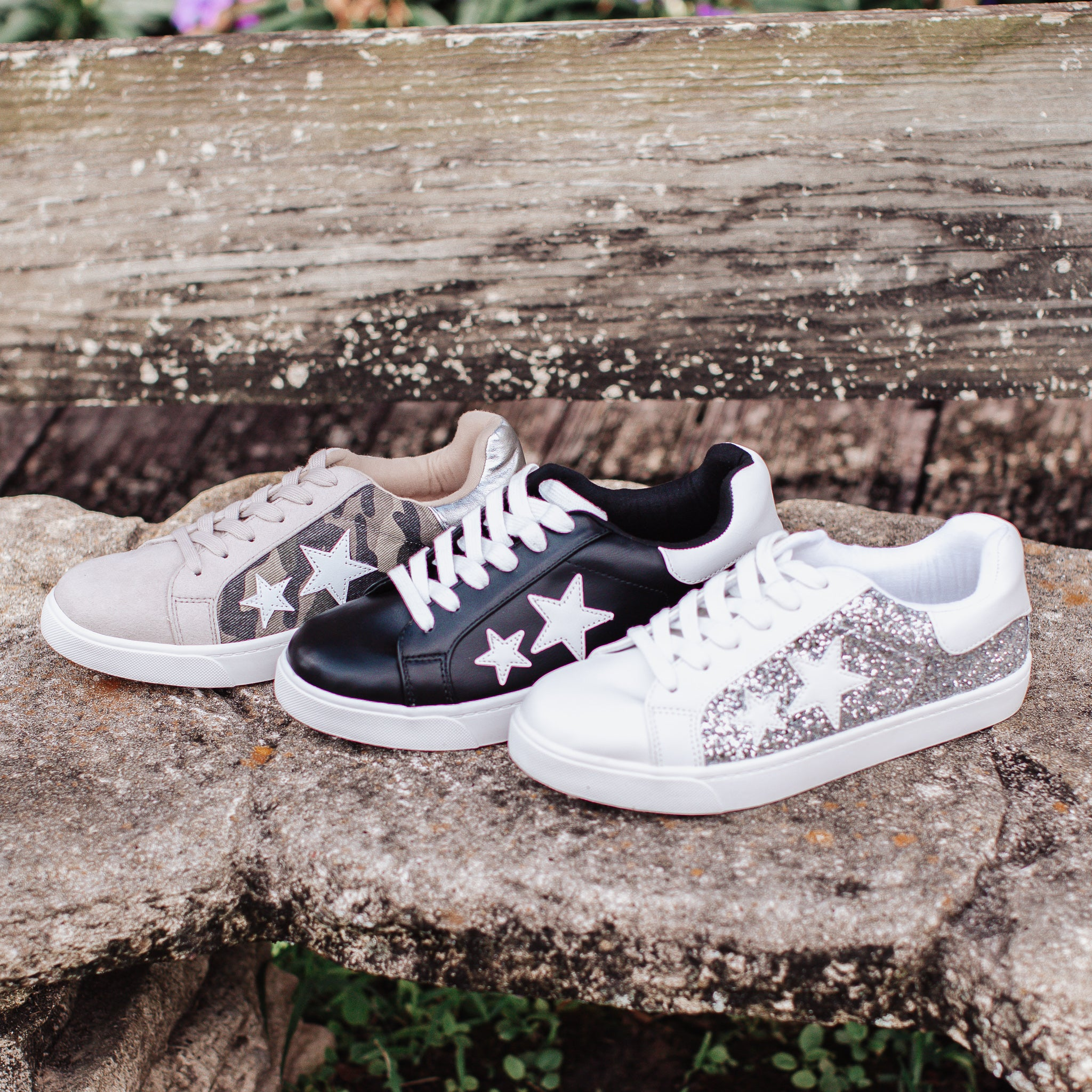 Star Shoes (5.5-11) *BLACK