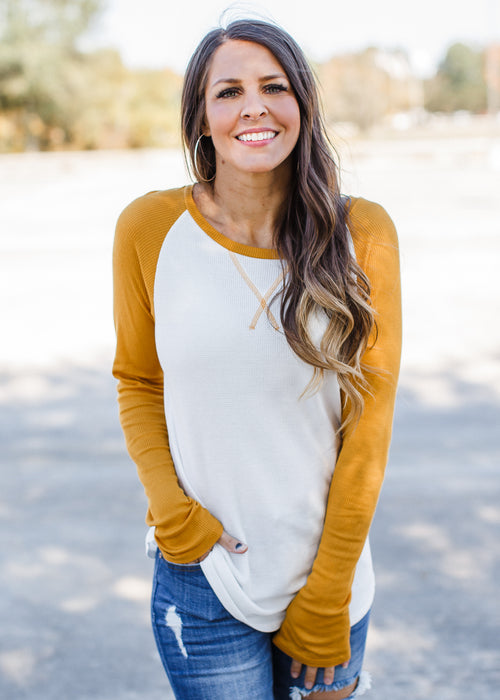 Thermal Basic Top (S-XL) *MUSTARD