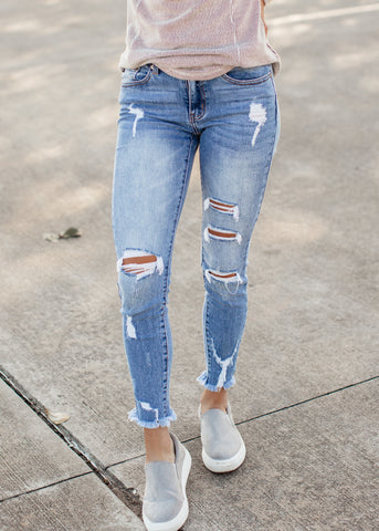 Give Me The Grey Kancan Jeans (1-15)