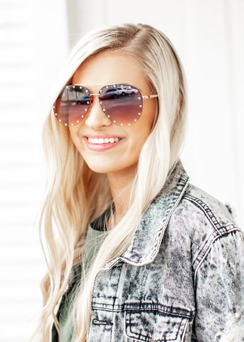 Stud Sunglasses *RAINBOW