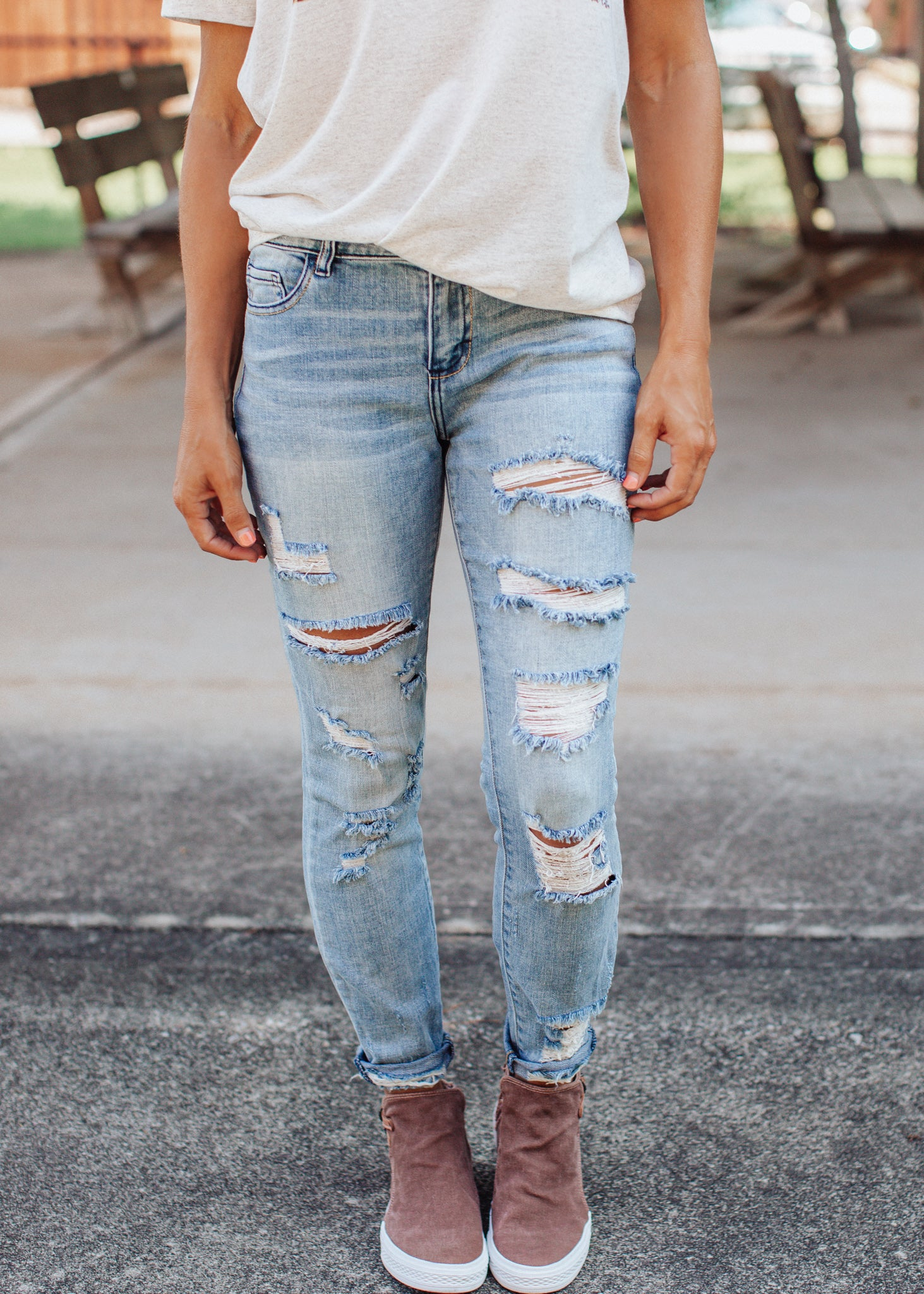 Bobby Distressed Jeans (1-13)