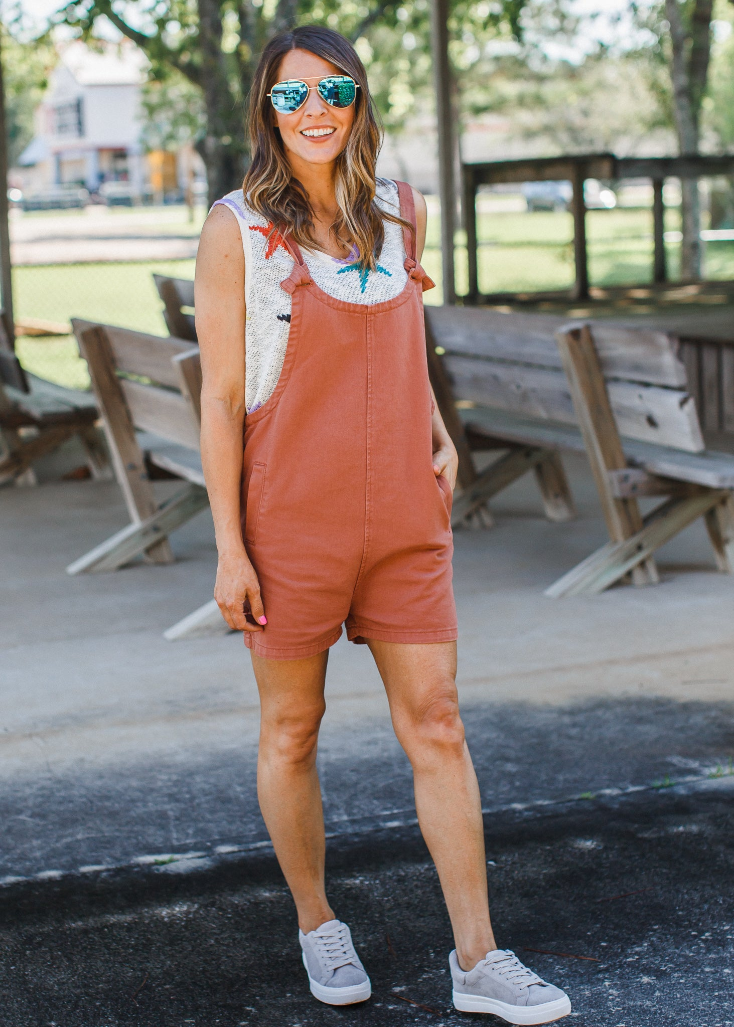 Overall Romper **SIENNA