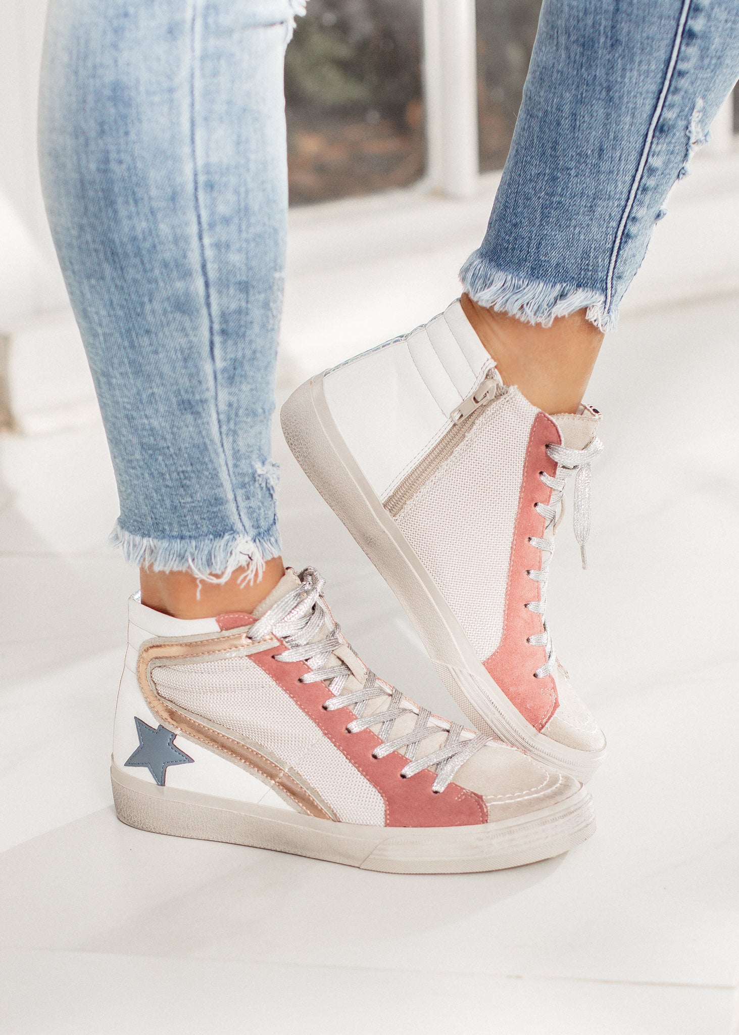 Shu Shop Roxanne High Top (6-11) *MAUVE