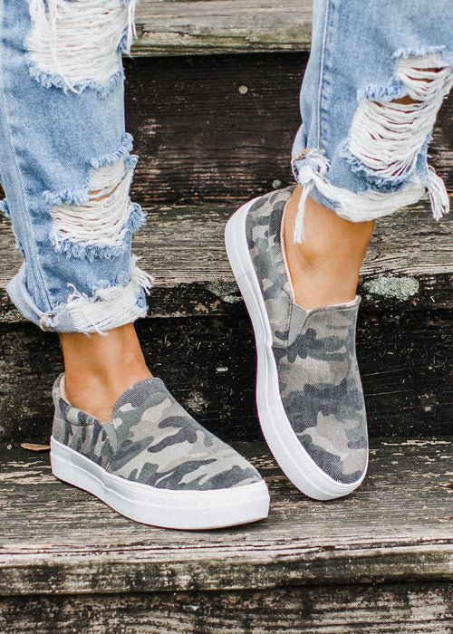 Corbin Slip On Shoe *CAMO (7-11)