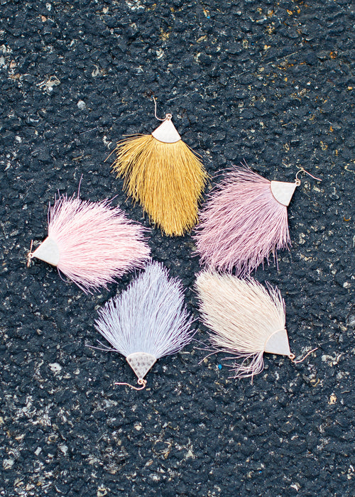 Feathery Earrings ( 5 Colors! )