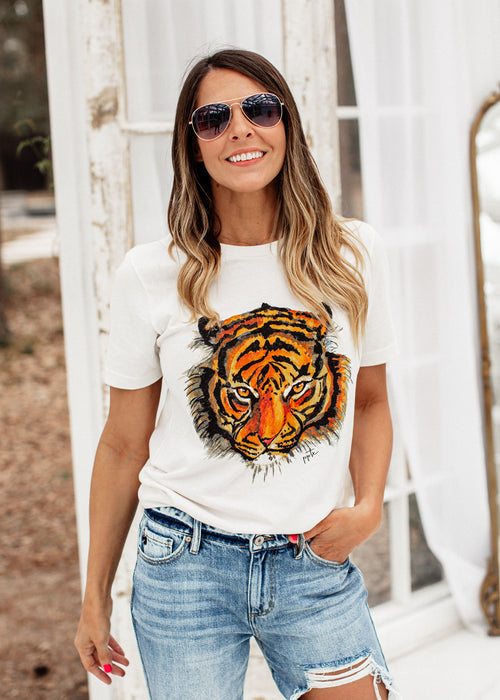 Eye Of The Tiger Tee (S-3X)