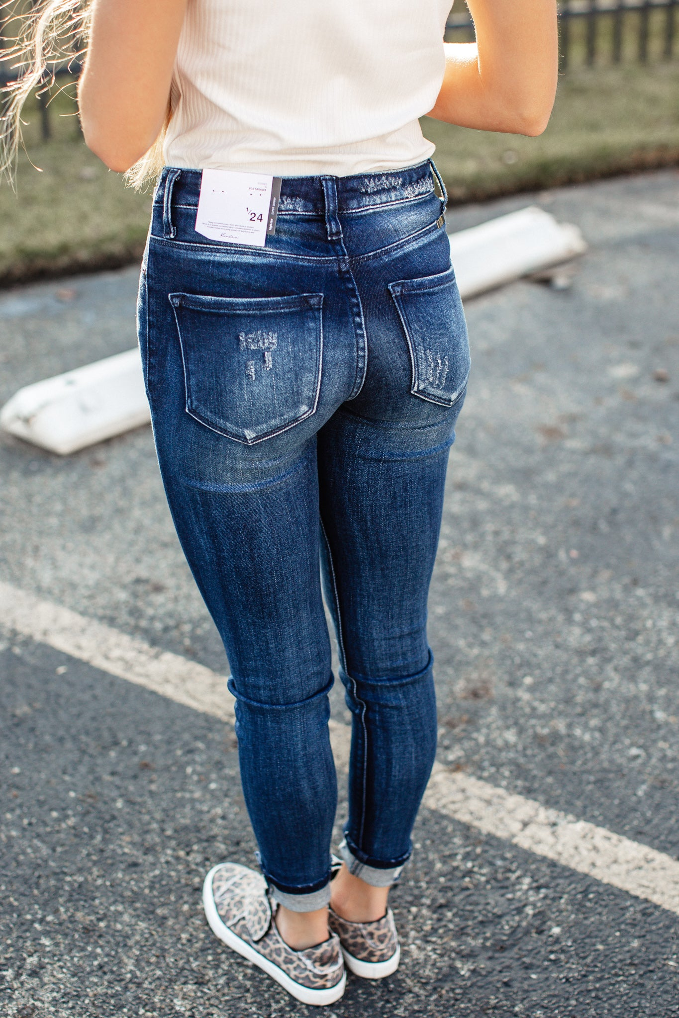 Jessica High Rise Kancan Jeans