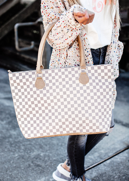 London Collection Tote *CREAM