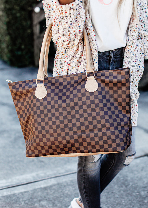 London Collection Tote *BROWN