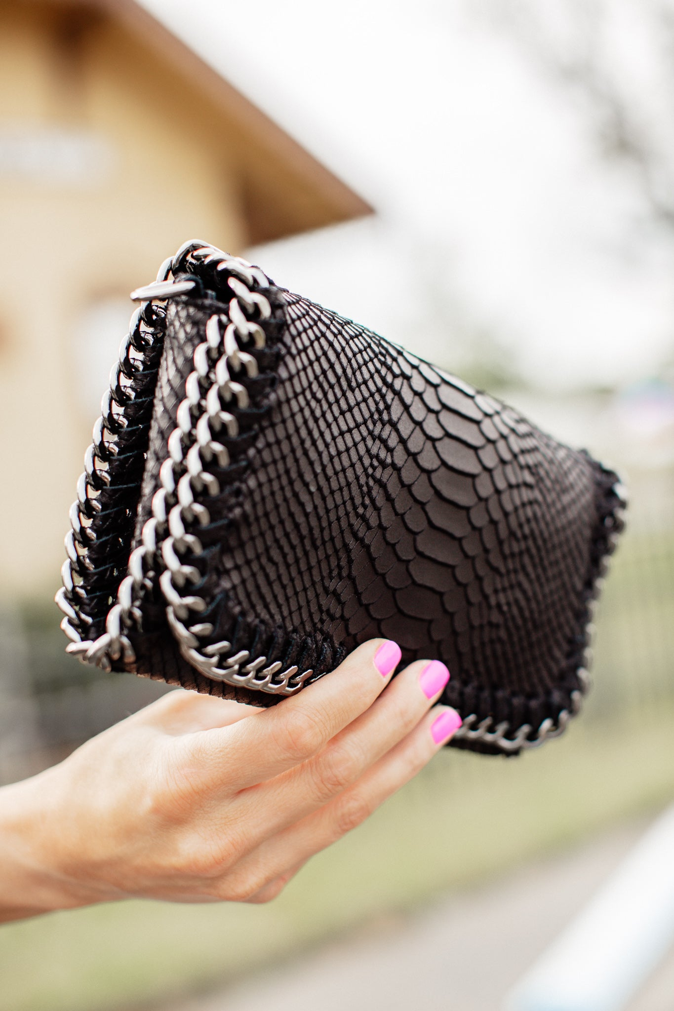 Crossybody/Clutch Purse *BLACK
