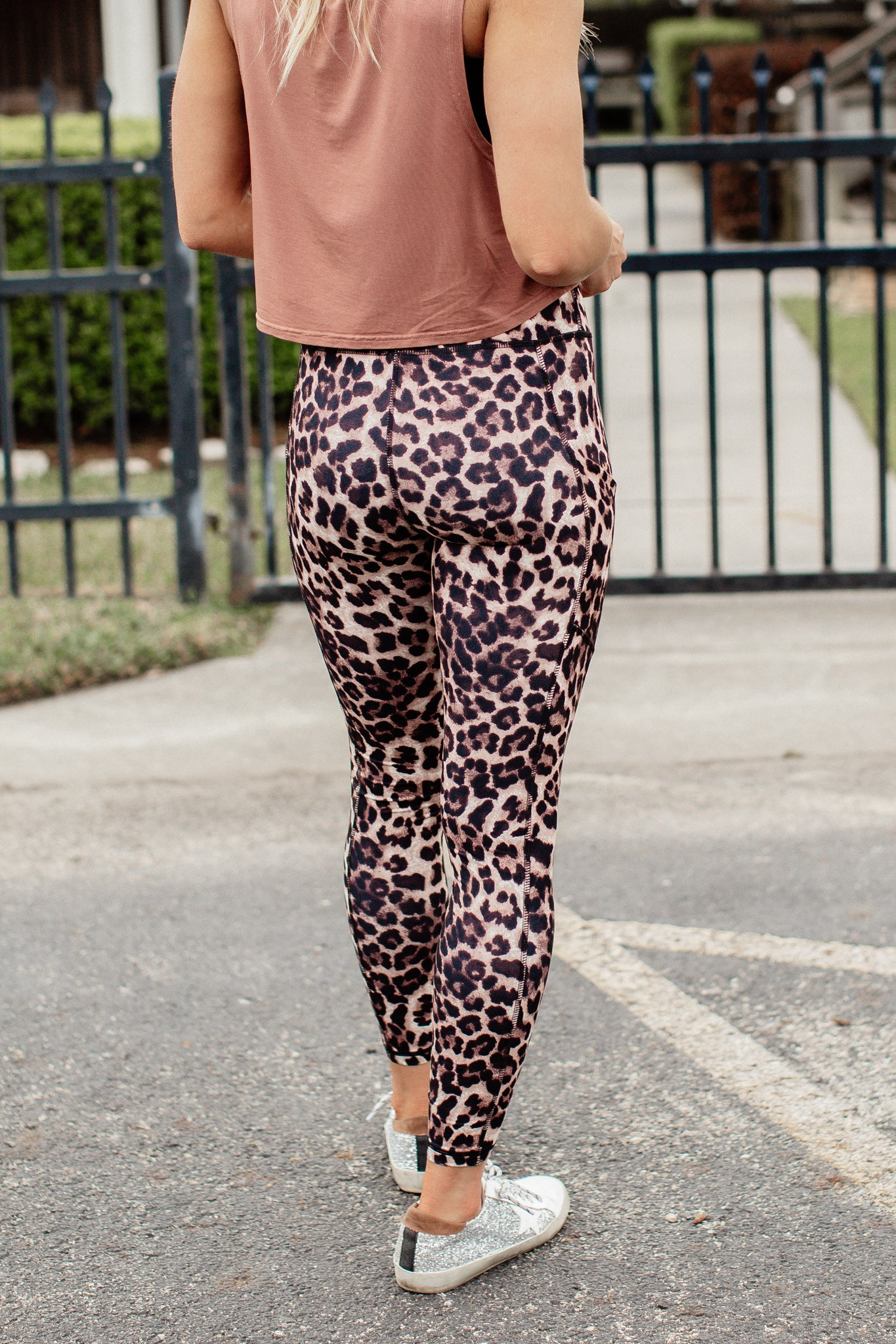 Leopard Leggings (S-3X) *BROWN
