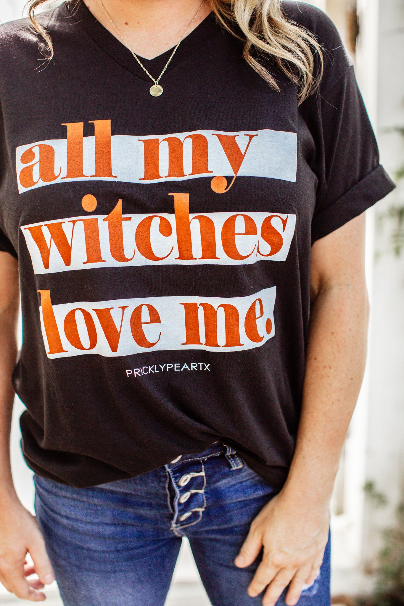 All My Witches Love Me Tee (S-3X)