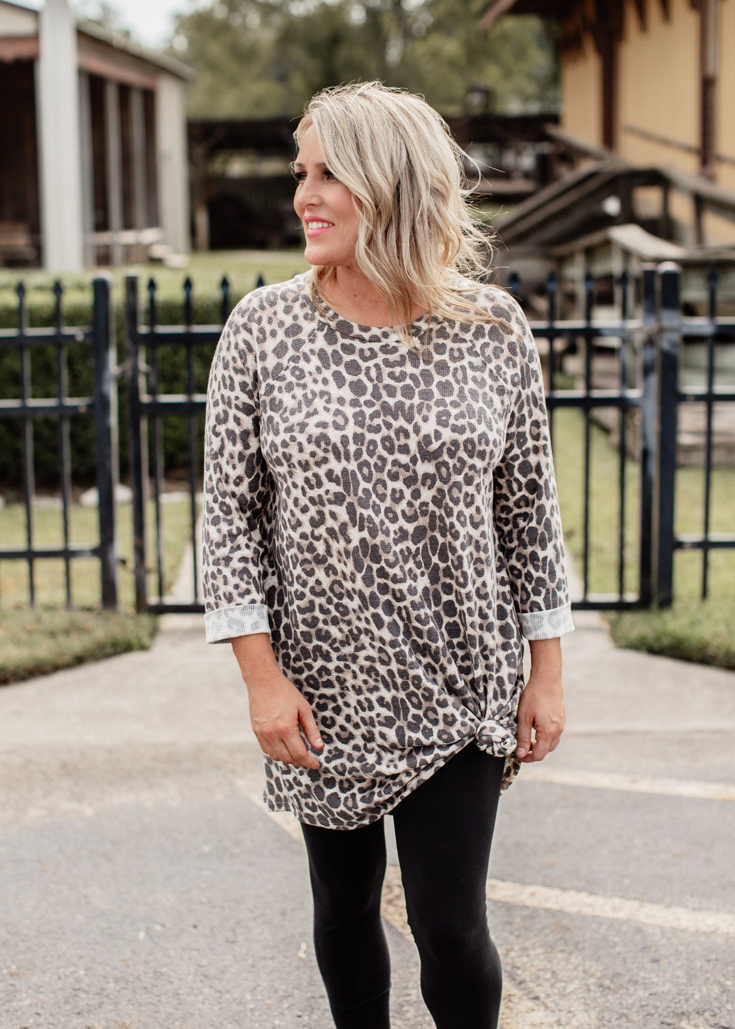 Leopard Casual Dress
