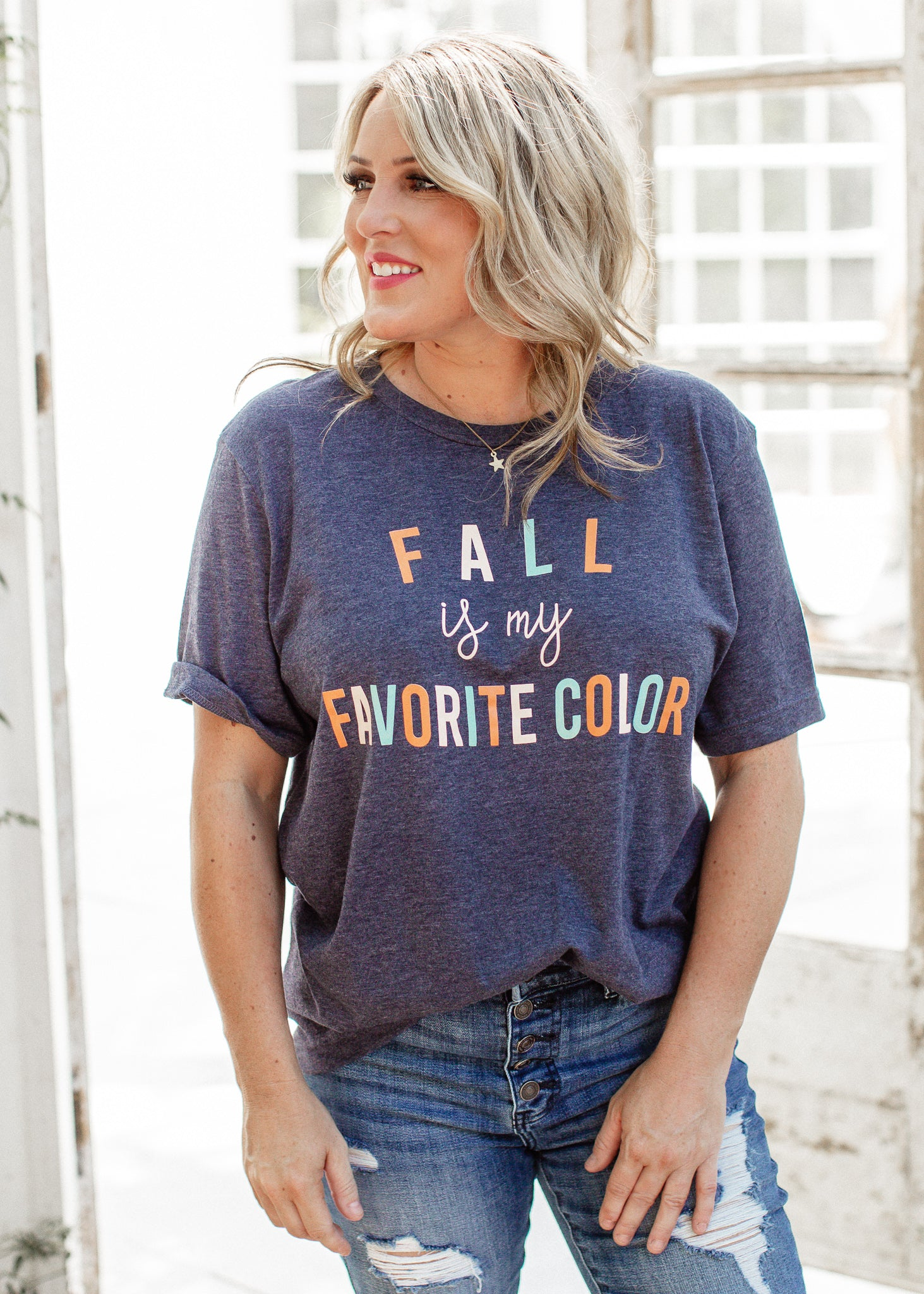 Fall Is My Favorite Color Tee (S-3X)